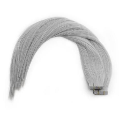 Silver Fox Tape Virgin Remy